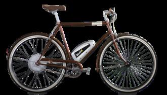 BionX - Image: Bionx creme bikenest