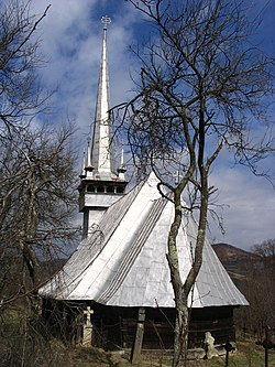 Wooden Church in Dragu, historic monument