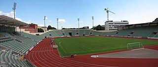 stadium at Oslo, Norway