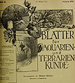 Blätter für Aquarien- und Terrarien-Kunde (1905) (20361711326).jpg