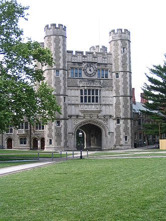 Collegiate Gothic - Blair Hall (1896–97), Princeton University, Cope and Stewardson, architects