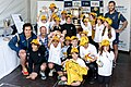 Bledisloe Cup with fans on display in Sydney 2014.jpg