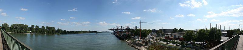 Blick auf den Zollhafen, 2007