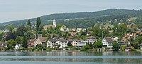 Blick vom Zürichsee auf Uetikon am See (2009).jpg