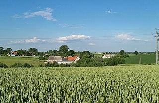 Blizienko Village in Kuyavian-Pomeranian Voivodeship, Poland