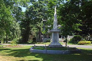 Bloody Brook Monument, North Main Street