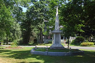 South Deerfield, Massachusetts - Bloody Brook Monument, North Main Street
