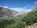 Blue Lakes and Dam from Mt Quandary Trail - panoramio.jpg