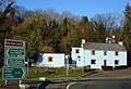 Blue house at Roundabout - geograph.org.uk - 1092711.jpg