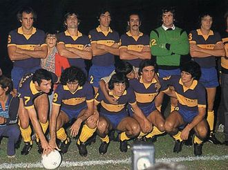 Intercontinental Cup (football) - Argentine Boca Juniors played West German Borussia Mönchengladbach after European champions Liverpool declined to participate in the 1977 edition.