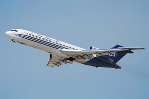 Trijet - Boeing 727-200 Advanced of Champion Airlines at Los Angeles
