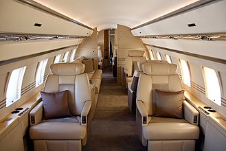 Bombardier Global Express - Interior cabin