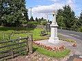 Bonchester Bridge War Memorial - geograph.org.uk - 1430022.jpg