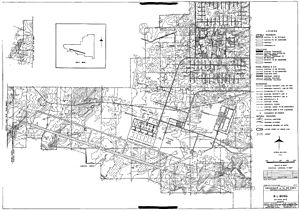 R.I. Bong Air Force Base - Plans for the layout of the base