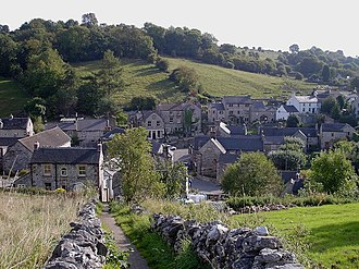 Bonsall, Derbyshire - Image: Bonsall, Derbyshire