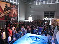 Booth of Electronic Arts at gamescom 2009 - waiting crowd PNr°0200.JPG