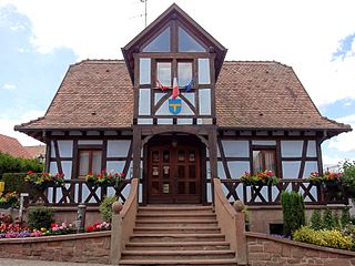Bossendorf Commune in Grand Est, France