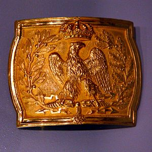 Imperial Guard (Napoleon I) - Officer belt buckle
