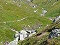 Brücke Südlich vom Septimerpass (rätoromanisch Pass da Sett), Passo del Settimo - panoramio - Qwesy.jpg