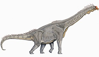 Macronaria - Image: Brachiosaurus DB flipped