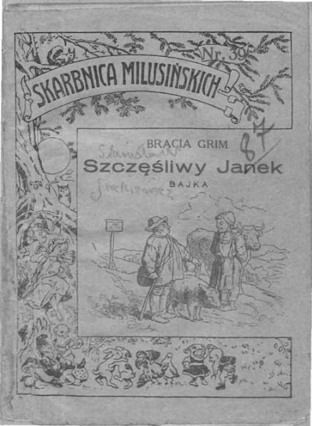 File:Bracia Grimm - Szczęśliwy Janek.djvu