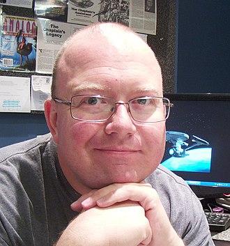 Brad R. Torgersen - Image: Brad R. Torgersen in his office (cropped)