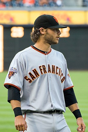 2014 National League Wild Card Game - In the fourth inning, Brandon Crawford hit the first postseason grand slam by a shortstop.