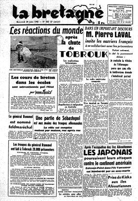 La bretagne journal wikip dia - Le journal de bretagne ...