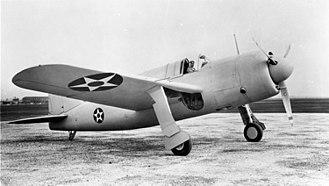 Brewster SB2A Buccaneer - The XSB2A-1 prototype