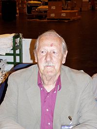 Brian W. Aldiss az Interaction-on Glasgow-ban, 2005-ben
