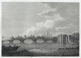 Bridge & Castle at Newport