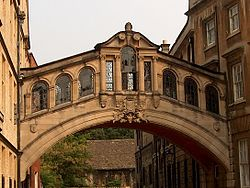 Bridge of Sighs, Hertford College, Oxford.JPG