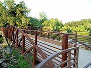 Bridge over Lake Fayetteville