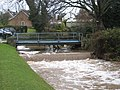 Bridges and water-drop in Great Ayton - geograph.org.uk - 1608615.jpg