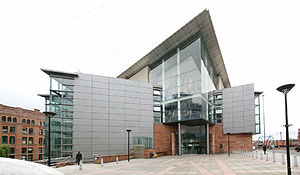 Bridgewater Hall - Image: Bridgewater Hall in 2008