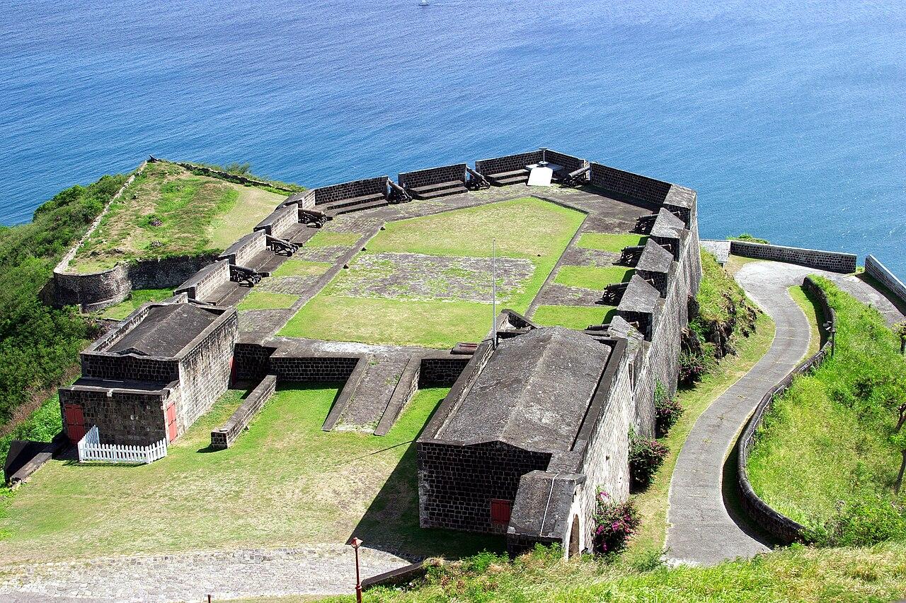Benteng di Brimstone Hill, fokus keberhasilan invasi Prancis tahun 1782