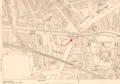 Britannia Lock, Limehouse Cut, London in 1894.png