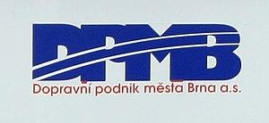 Brno, Bystrc, logo DPmB na Lipsku.jpg