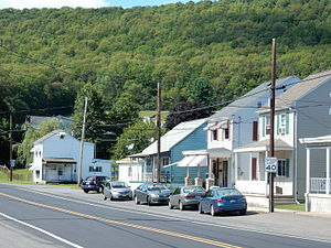 Pennsylvania Route 61 - Broad Street (PA 61) in Fountain Springs.