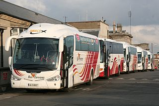 provider of bus services in Ireland