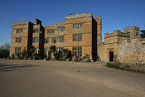 Brockhall, Northamptonshire - Image: Brockhall Hall geograph.org.uk 1734053