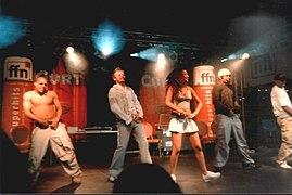 Bro'Sis live at the Maschsee Festival in Hanover (2003)