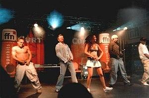 Bro'Sis - Bro'Sis performing in Hannover  in August 2003.