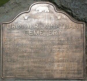 BrotherJonathan Marker Crescent City, CA.jpg