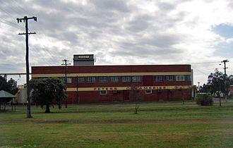 Brunswick Junction, Western Australia - Peters Creameries building
