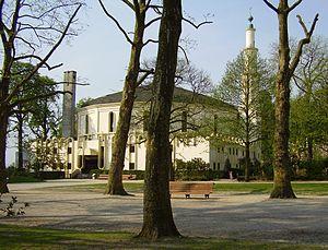Great Mosque of Brussels - Image: Bruxelles (Cinquantenaire) la grande Mosquée