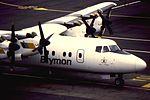 Brymon Dash 7 at NCL (16134627645).jpg