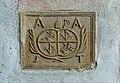 Buchholzer Schlosskapelle - Portal - Wappen (links unten).JPG