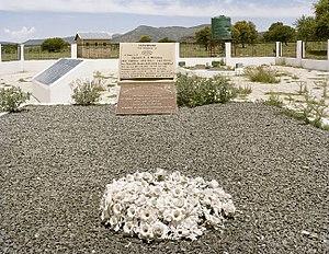 Bulhoek massacre - Image: Bulhoek Massacre Heritage Site