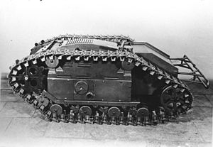 Goliath tracked mine - An SdKfz. 303, the petrol powered version of the Goliath